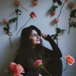 Photography Instagram Rabya with flowers