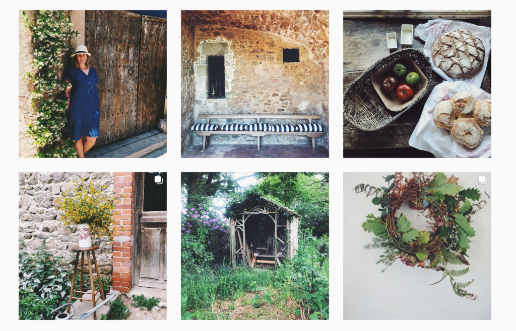 Firain shop instagram grid.