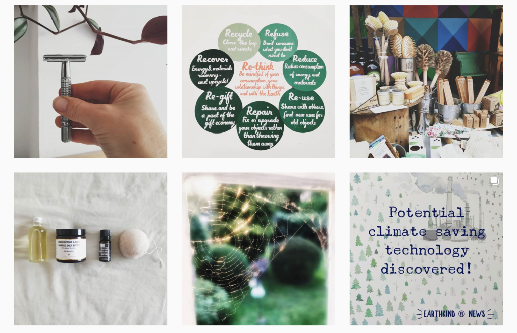 @ecothing an environmental Instagram account.