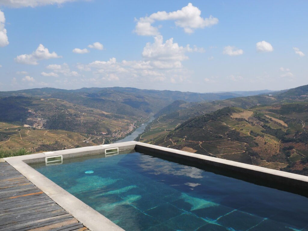 Pool, Douro Valley, Portugal.