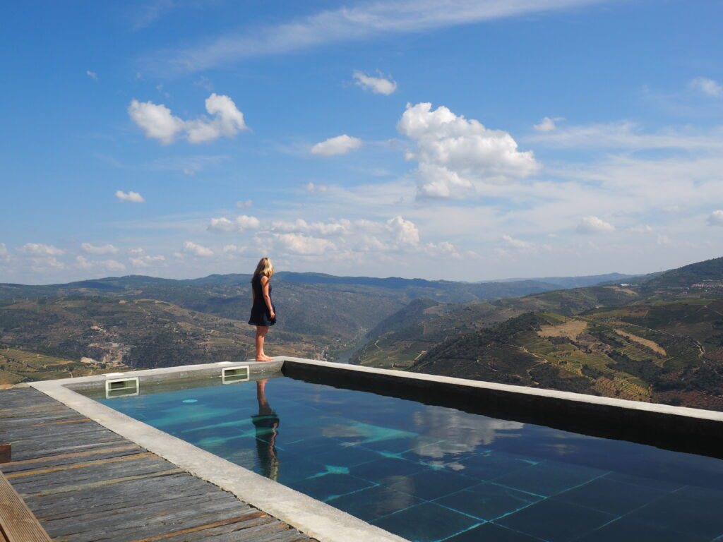 Pool Douro Valley Portugal.